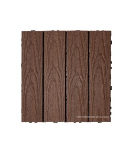 Deck Tile Naturale Redwood