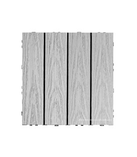 Deck TIle Naturale Smoke White