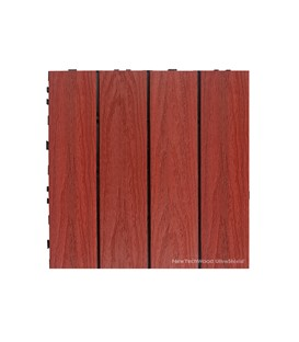 Deck Tile Naturale Swedish Red